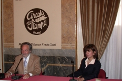 Conference at the Press Club, Milan (1998)