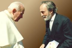Meeting with Pope John Paul II