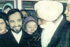 With Sant Kirpal Singh, President of the World Fellowship of Religions