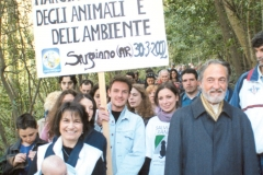 MARCH FOR THE PROTECTION OF ANIMALS AND THE ENVIRONMENT 2002