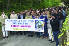 MARCH AGAINST CONTINUOUS VIOLENCE ON HELPLESS WOMEN 2014
