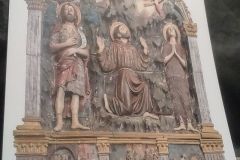 Art in Sargiano: Saint Francis receives stigmata