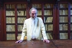 President Pier Franco Marcenaro in the old library