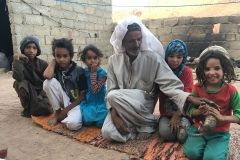 Wells and Villages in Sinai (Egypt): a family