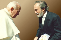 Meeting with Pope John Paul II