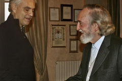 Art Science and Peace Award to Andrea Bocelli