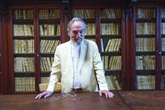 President Pier Franco Marcenaro in the old library